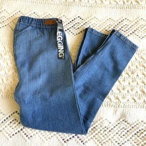 New JOE'S JEANS The Legging Skinny Blue Denim S